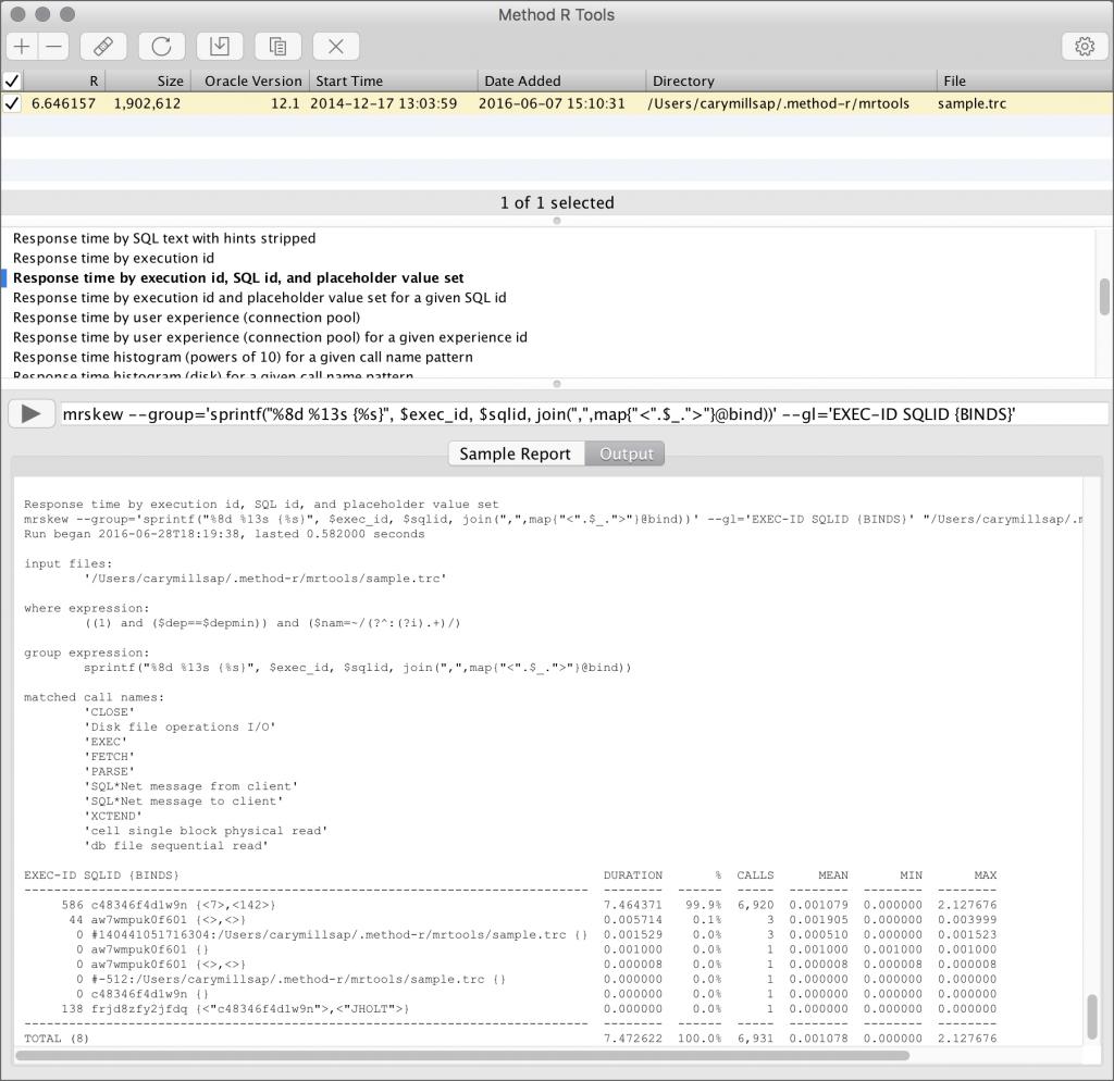 Method R Tools screenshot